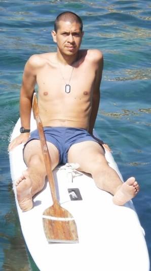 Roberto Ruta - Corso H fine anni '90 - Mi ha beccato su Facebook e mi aveva promesso che, appena ritornato in vacanza a Catania, avrebbe fatto l'escursione: promessa mantenuta!!! -STANCOEUNPO'USTIONATO-