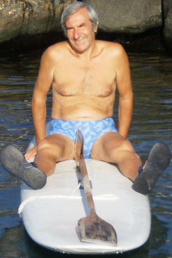 Ernesto Vecchio - 61 anni - ex panettiere - E' uno degli esempi che cito ai miei escursionisti. Lavorare a 8 anni, prendere la licenza elementare, imparare a fare il panettiere a 10 anni! - MENZAIUNNATAASCOLAEMENZAIUNNATA'OMASTRU -
