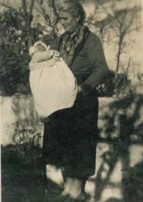 Mia nonna paterna con me