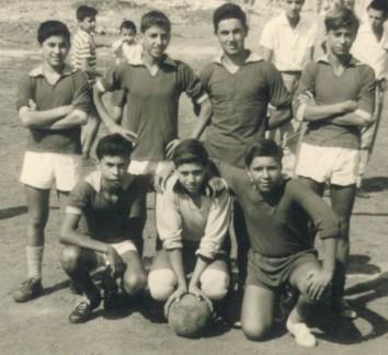 2 ottobre 1960: Alberto Raimondo - Nello Scuto - Toni Raimondo - Gaetano Gioeni Alfio Paola - Nino Strano - Santo Crispi